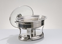 STAINLESS 4 QT OVAL CHAFER