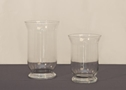SMALL GLASS URNS
