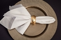 Napkin Ring - Gold .50 Each.