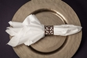 Napkin Ring -  Metal Scroll .50 eacj