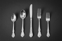 Rose Flatware, Stainless