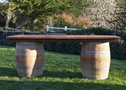 Wine Barrel Bar $75